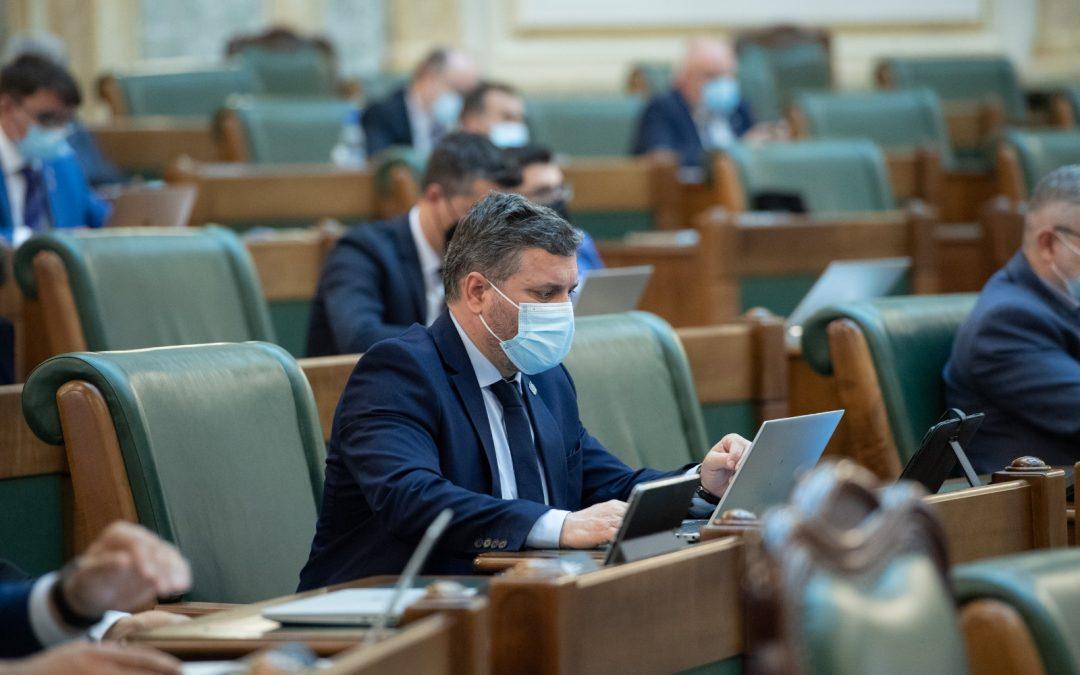 Iniţiative legislative ale USR PLUS adoptate săptămâna aceasta în Senat
